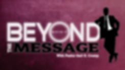 beyond the message