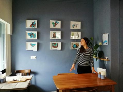 Exhibition in Den Haag. Tree Tredici