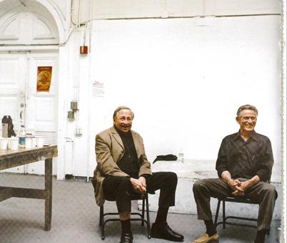 Studio 14 Berkson & Rauschenberg, 2000