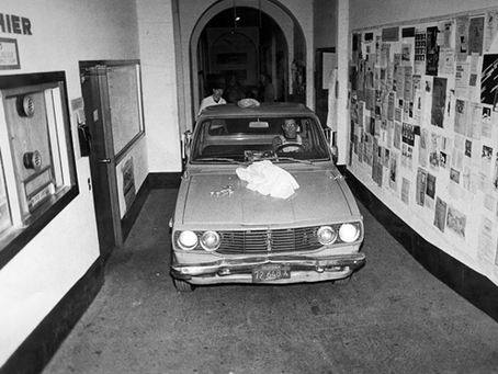 Parking on Campus 1980