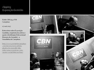 Entrevista a Radio CBN