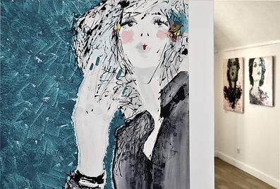 Artwork for sale in Portugal. Worldwide shipping. Lu Mourelle - emerging artist