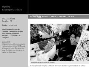 Site do Jornal 'ACidade ON'