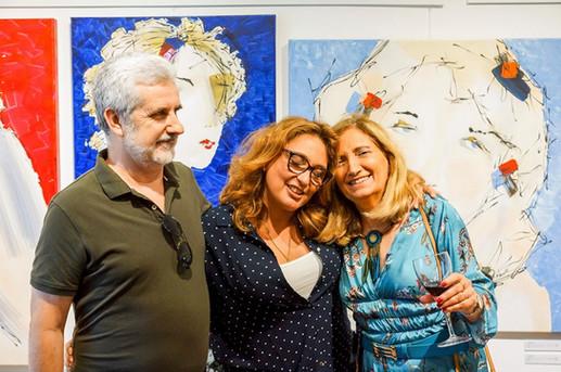 Jose Henrique Prado, Lu Mourelle and Maria Amelia Ramos - Cascais, Lisbon - Portugal
