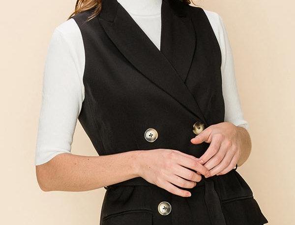 Sarah Vest dress