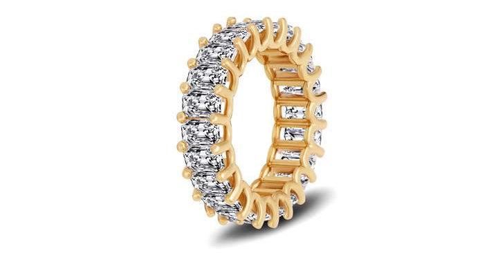 Tia Baguette Ring