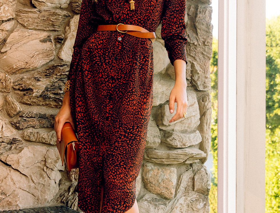 Gretta Shirt Dress
