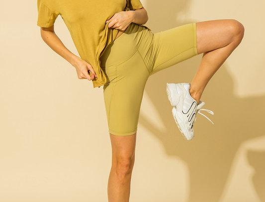 Braxton Biker shorts