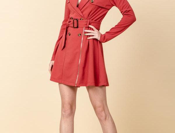 Carmen Trench Dress