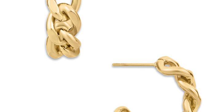 Braxton Chain Hoop