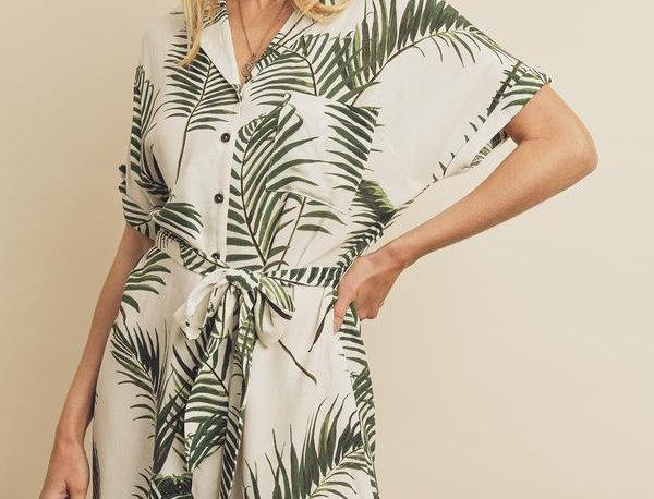 Palma Shirt Dress