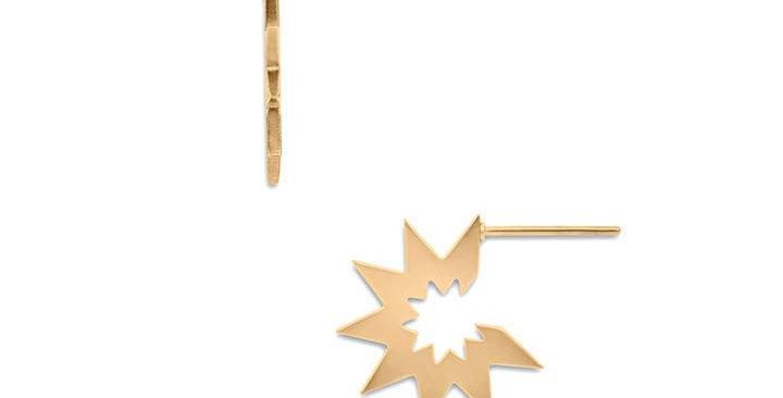 Chelcie Mini Sunburst Earrings