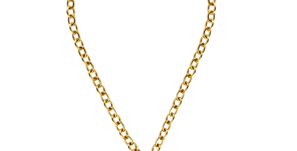 Callie Chunky Lock Necklace