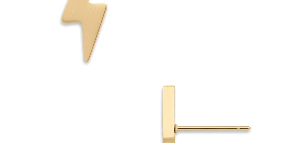 Piper Lightning Bolt Stud Earring