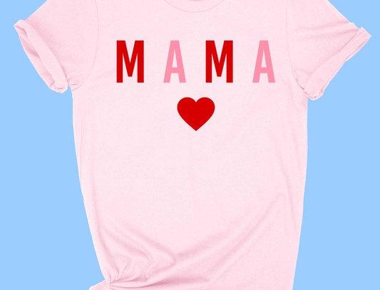 Mama heart Tee