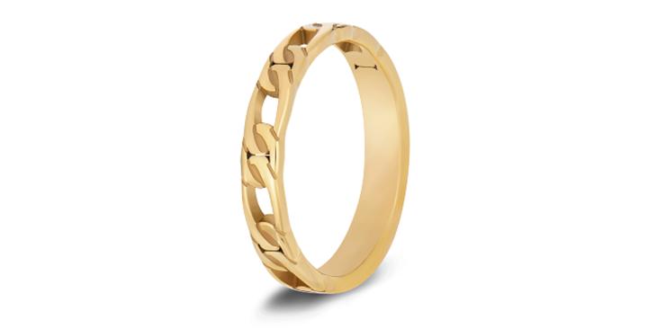 Emily Figaro Chain Ring