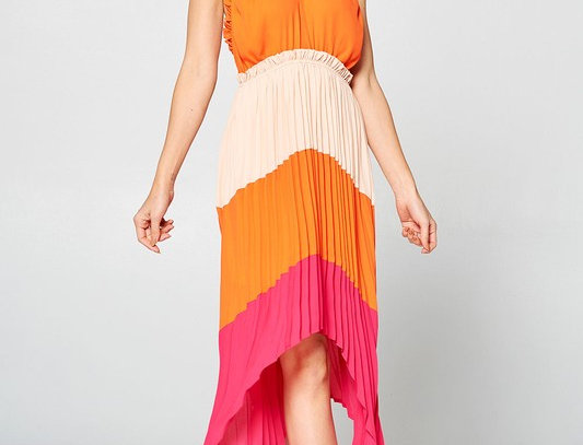 Brasillia High-low Dress