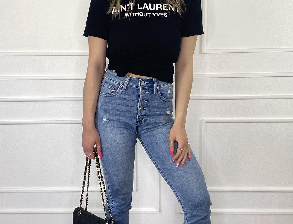 Laurent Fashion Tee
