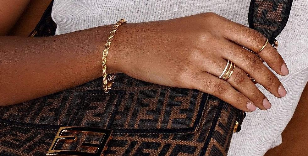 Luka Rope Chain Bracelet