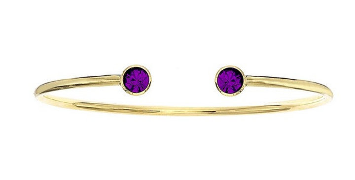 Crystal Colors Bangle