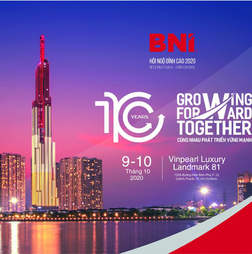 Hội ngộ đỉnh cao 2020 chào mừng 10 năm thành lập BNI Việt Nam.