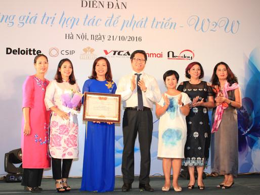 Hiệp hội doanh nhân nữ Hà Nội: Những người phụ nữ mở cánh cửa ra thế giới