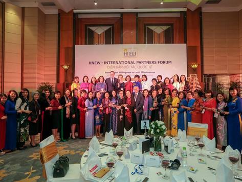 """Hiệp hội Nữ Doanh Nhân Hà Nội tổ chức """"Diễn đàn đối tác quốc tế – Từ thiện chí toàn cầu đến hiệu quả"""
