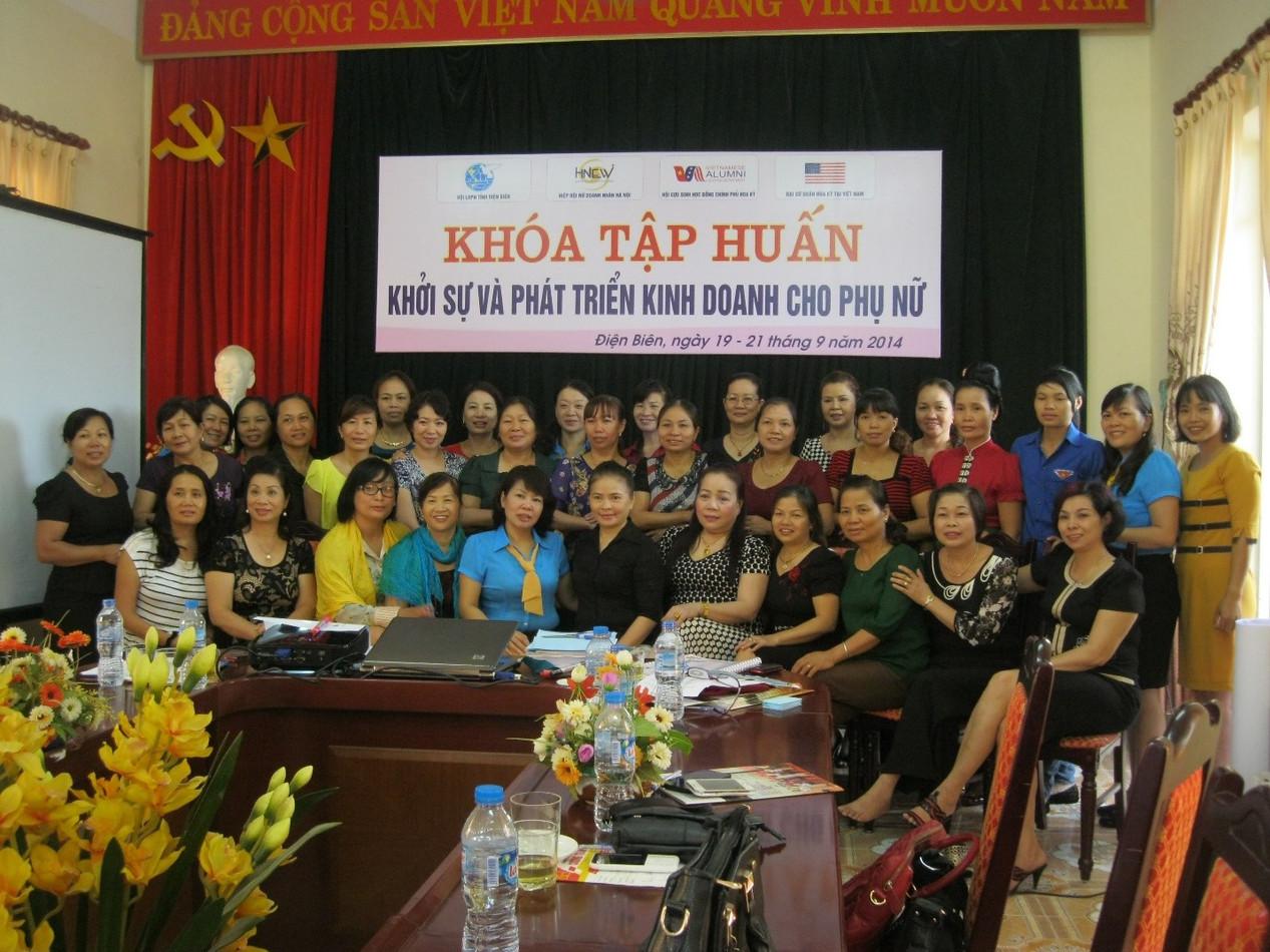 Hỗ trợ phụ nữ phát triển kinh doanh tại Hà Giang