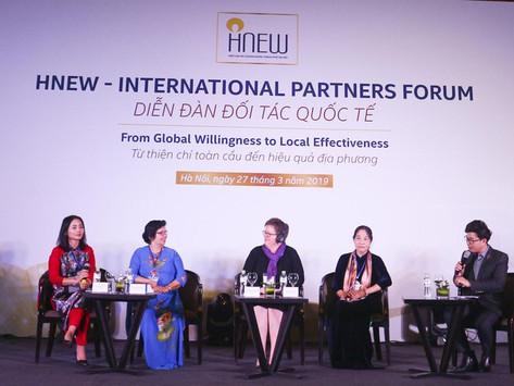 Diễn đàn đối tác quốc tế nâng cao năng lực cho phụ nữ kinh doanh