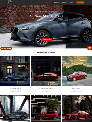 Website Mazda