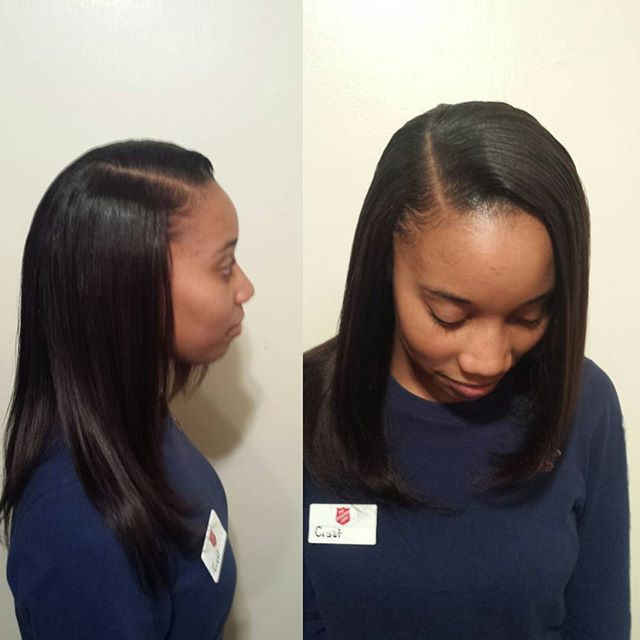Natural Sew In Install