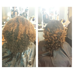 Instagram - Blowout Thermal Curls with Round Brush  #beauty #fashion #virginhair #naturalista #natur