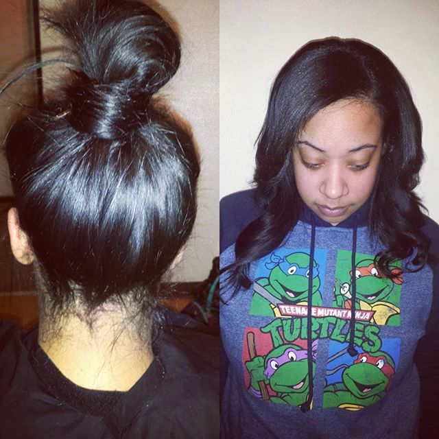 Versatile Sew In install by me _Book your next sew in install with me_{Link in bio)_#troystylist #st