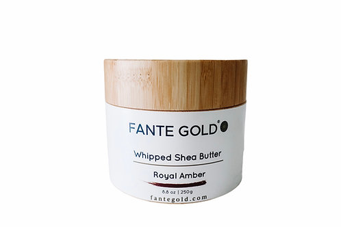 Royal Amber Whipped Shea Butter