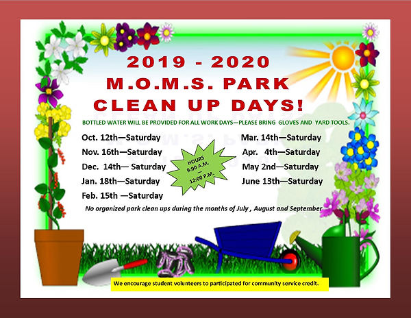 2019-2020 PARK CLEAN UP DAYS.jpg