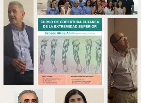 CURSO DE COBERTURA CUTANEA DE EXTREMIDAD SUPERIOR