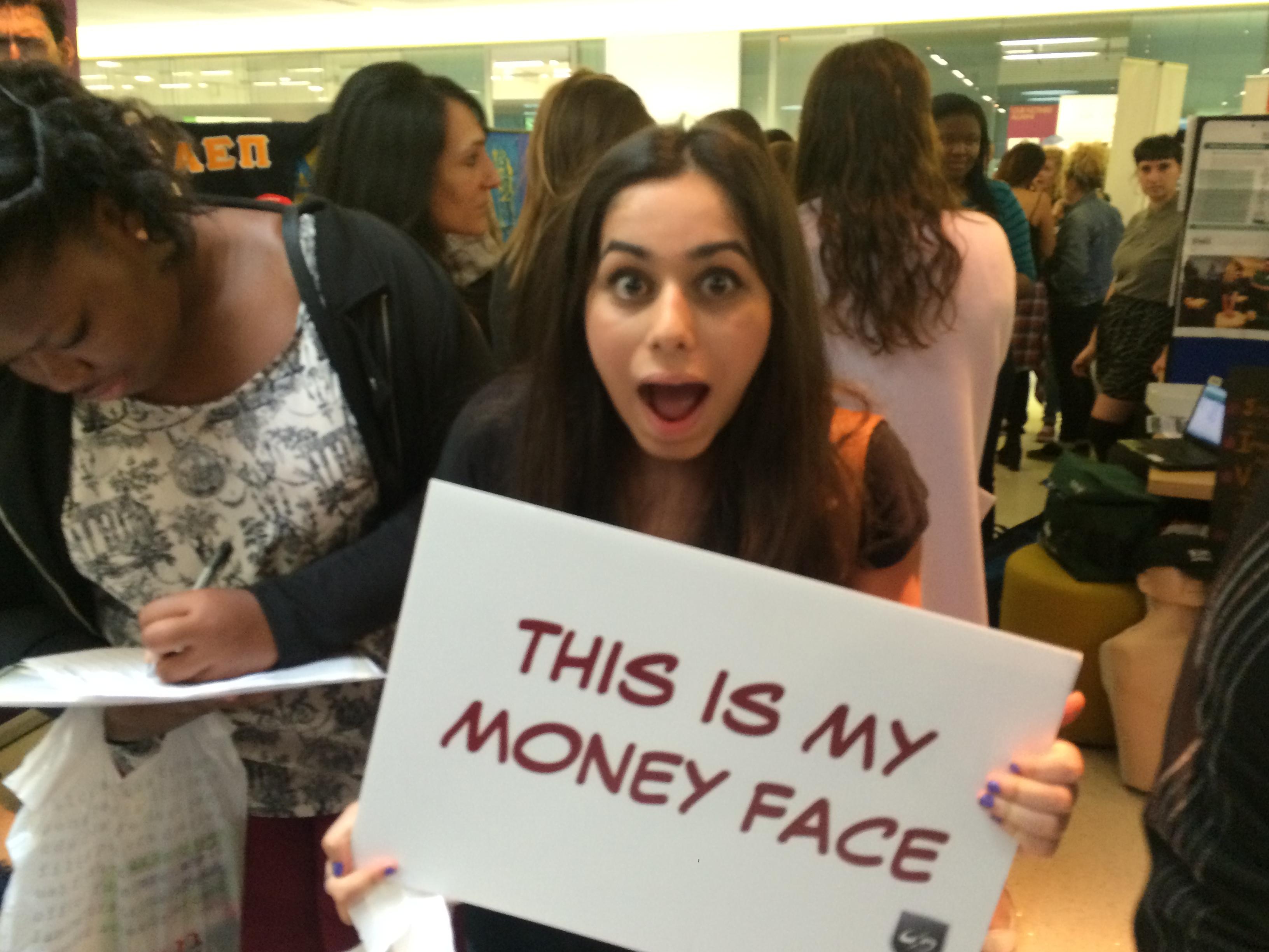 University of Westminster Money Face
