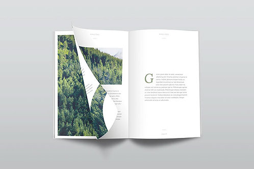 Booklets | 5-1/2 in W x 8-1/2 in H Size