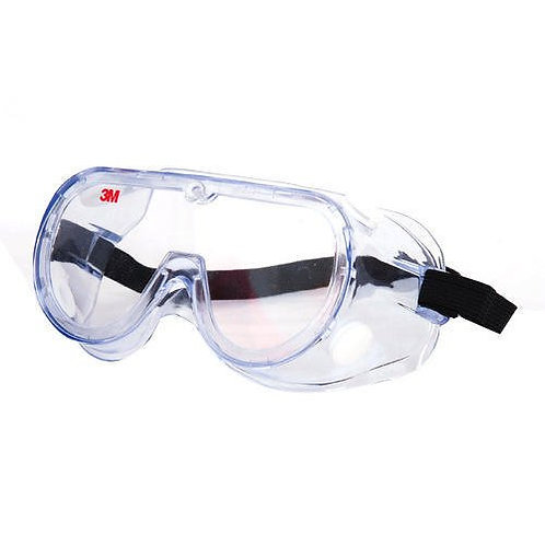 3M Chemical Splash Clear Lens Safety Goggles 1621