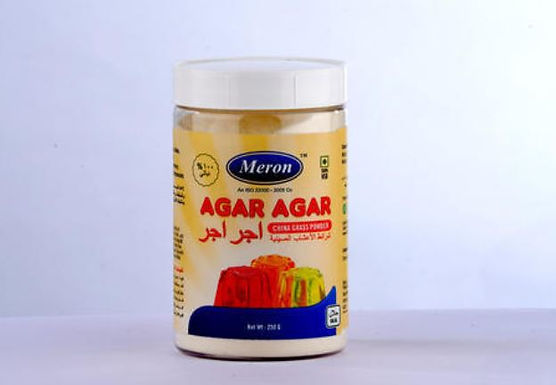 Agar Agar Food Grade Powder 250gm Container (China Grass)