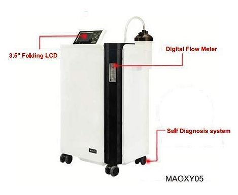 SLN Surgicals Medequip Oxymed Mini Oxygen Concentrator (5 L)