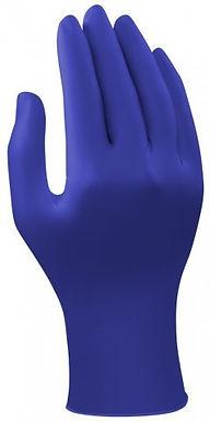 Unisoft Nitrile Blue Examination Gloves, 24 cm x 9.4 cm (Pack of 100)