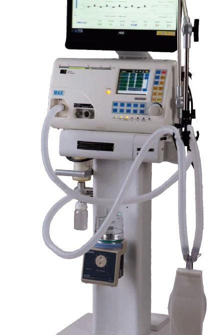 Max Proton Plus Critical Care Ventilator