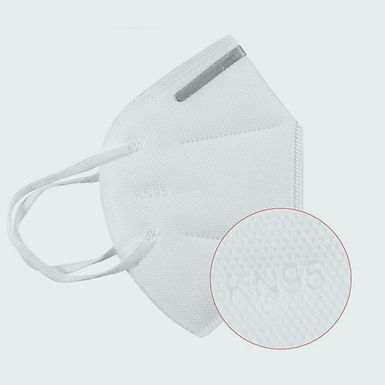 ORILEY K-N95 FDA Approved Face Mask with Nose Pin for Men & Women (2 Pcs)