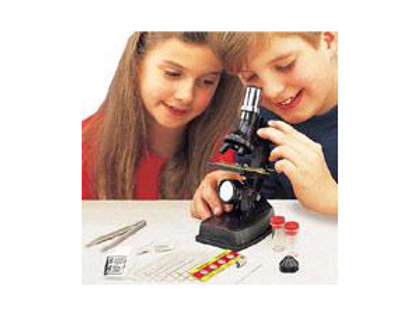 100x-300x-600x Microscope Set With Light And Projector