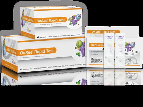 COVID-19 IgG/IgM Rapid Test