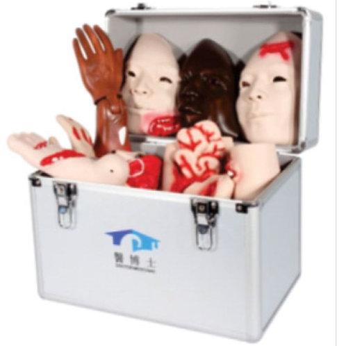 Advanced Trauma Evaluation Model (Trauma Moulage Kit)