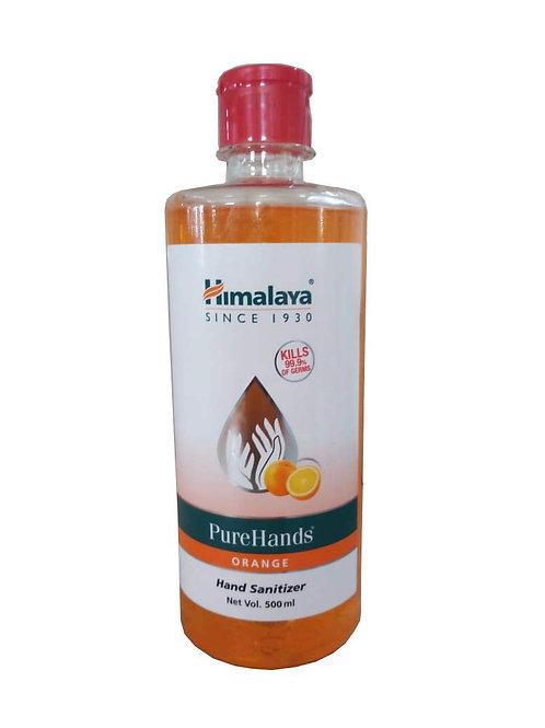 BIOLAB (INDIA) COVID-19 Products, Hand Sanitisers, Himalaya PureHand Sanitizer 500 ml (Orange)