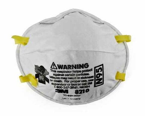 3M™ Particulate Respirator 8210, N95 160 EA/Case