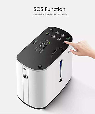 1-6L Oxygen Concentrator Portable with battery Medical Supply Equipment Type